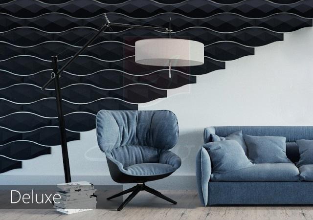 декоративные панели в интерьере Deluxe фото
