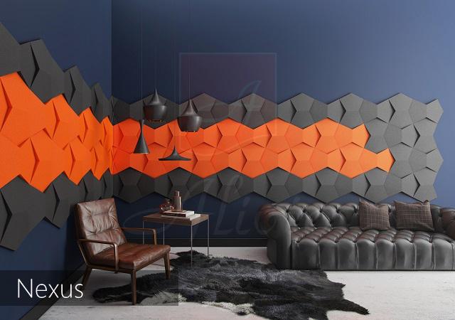 3d гипсовые панели Nexus фото
