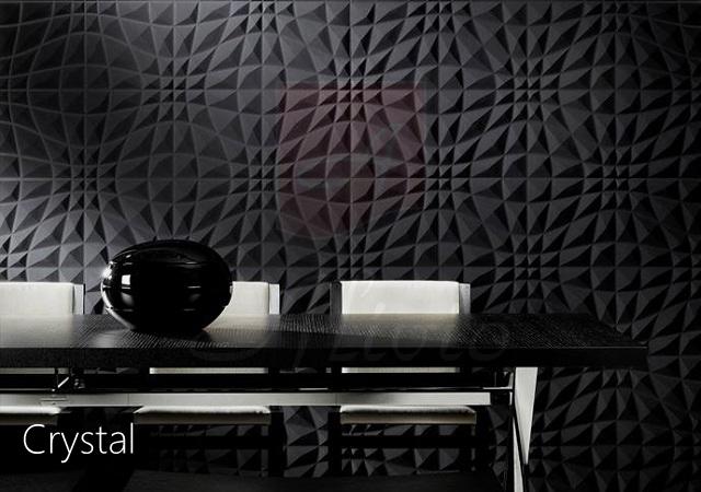 декоративная панель для стен Кристалл фото