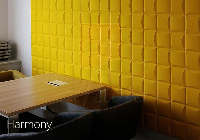 декоративные 3д панели кубики Harmony фото