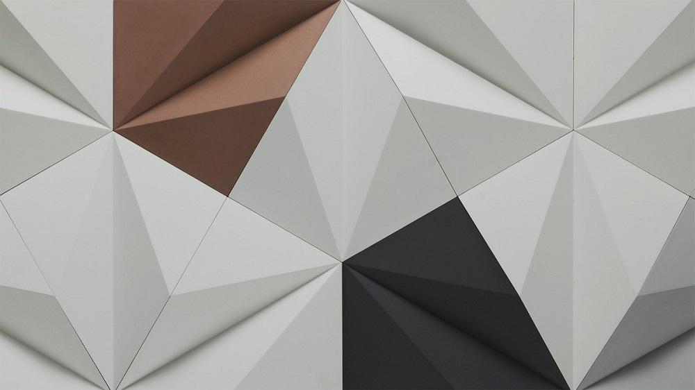 отделка стен Polygonal фото