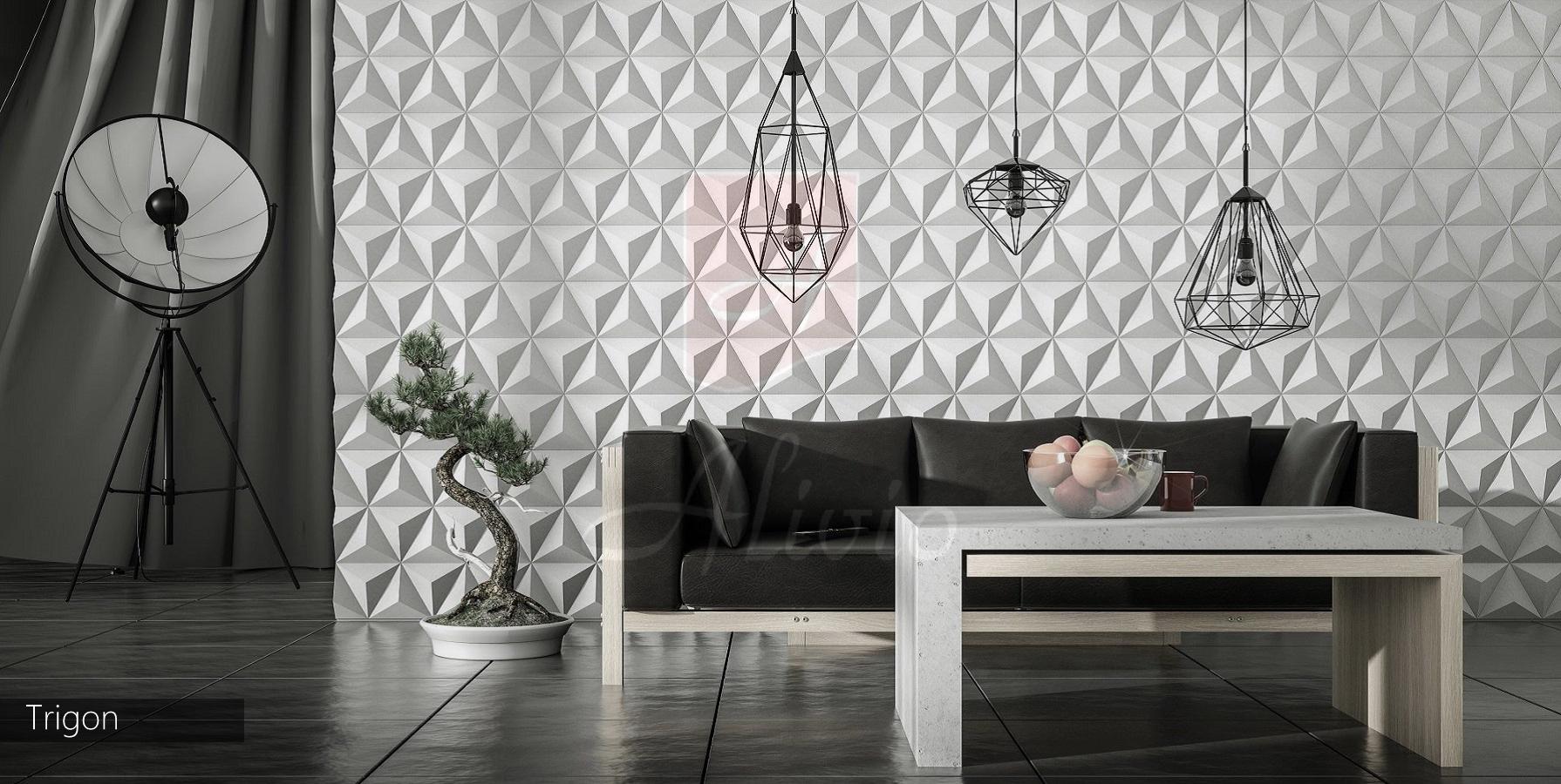 рельефные стеновые панели