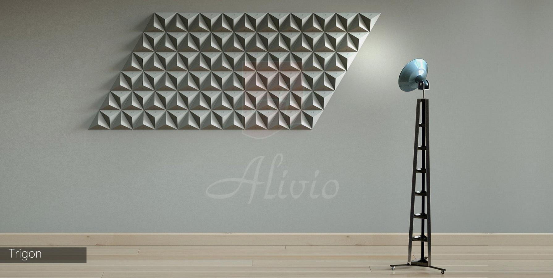 стеновые панели 3д в интерьере