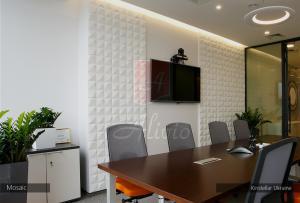 Гипсовые 3d панели Alivio серии Mosaic для  отделки стен, 3д панель, 3d wallpanel, 3d wall производитель цена  купить Украина  alivio.com.ua